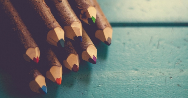 Blogging in an Age of Crayons image