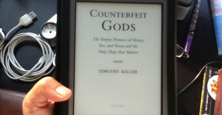Review: Counterfeit Gods image