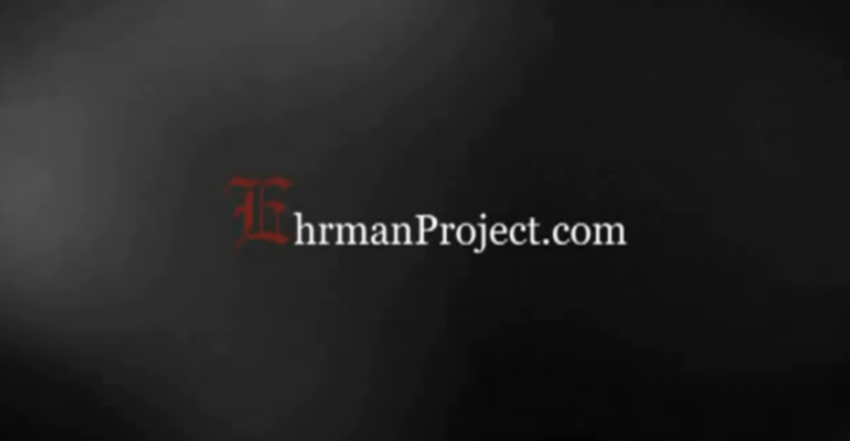 The Ehrman Project image